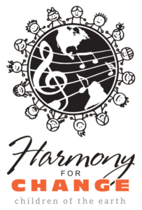 Harmony for Change Logo Vertical